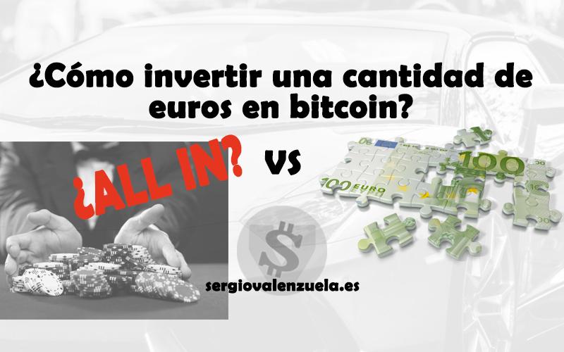 investiție bitcoin de un euro